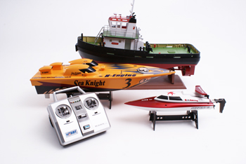 RC Boat Selection Image