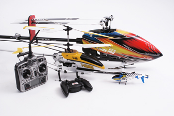 RC Helicopter Selection Image